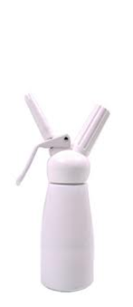 mosa whipped cream dispenser 0.5 L White